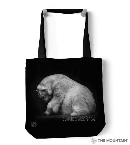 The Mountain® Climate Change Polar Bear Tote Bag